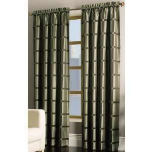 allen + roth 95L Green/brown Roswell Window Panel X214