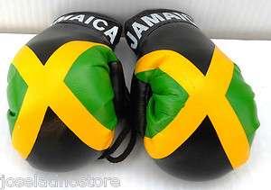 Jamaica Mini Boxing Gloves 3 1/2 x 2 1/2 Best Quality