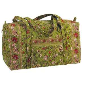 Maggi B French Country Evergreen Large Duffle Bag Tote