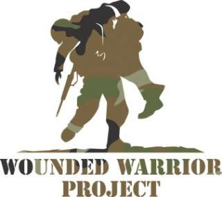 Camo Wounded Warrior Project Vinyl Decal Sticker