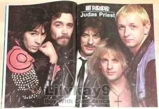 KISS Judas Priest RONNIE JAMES DIO Scorpions KROKUS Joan Jett RATT Van