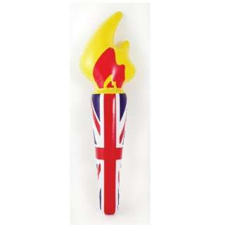 Olympics Decorations   Great Britain Union Inflatable Torch