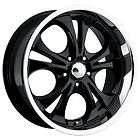 boss 304 black wheel 22 x9 5 5x5 bc set