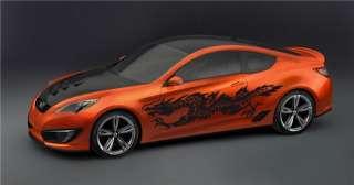 DRAGON VINYL GRAPHICS CAR MITSUBISHI NISSAN 370Z BMW 24