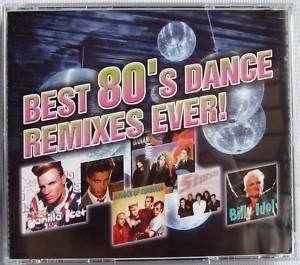 Best 80s Dance Remix 3CD Global Deejays Cascada Lazard