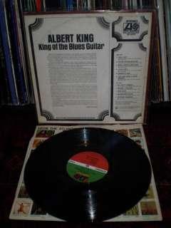 VG++ LP   ALBERT KING   King Of The Blues Guitar ~ 1969 Atlantic