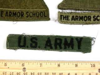 US ARMY Patch 25th Infantry 3rd Inf Spearhead Armor School 8pc