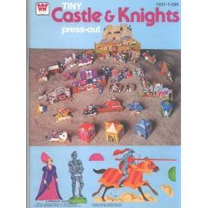 Tiny Castle & Knights Press out Whitman 1979 Whitman Books