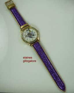 Kirks Folly Divine Diva Witch Watch   Purple Halloween