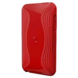 SwitchEasy Torrent Cover for iPod touch (2nd gen.), Red