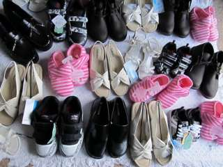 LOT OF 30 PAIRS OF SHOES BOYS GIRLS MEN AND WOMEN MIX LOT NEW
