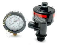 Manual Air Relief Valve for Clean and Clear and other Pentair filters