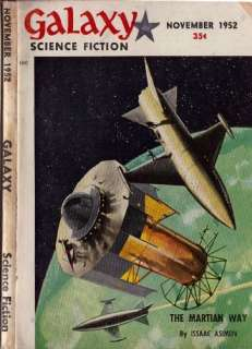 GALAXY SCIENCE FICTION 45+ STORIES ON DVD PULP MAGAZINE