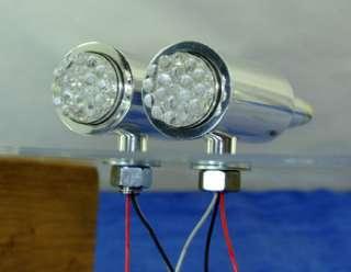 50 Caliber Bullet Turn Signal lights Motorcycle Truck