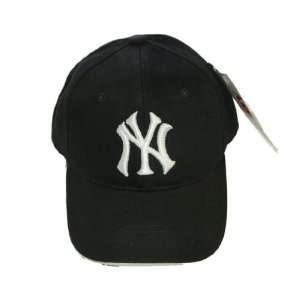 MLB Retro New York Yankees Authentic Black Baseball Cap