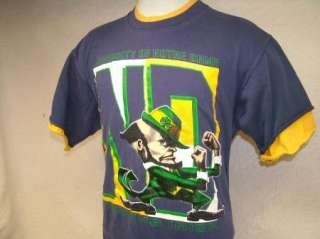 vtg NOTRE DAME FIGHTING IRISH t shirt 80s, 90s XL