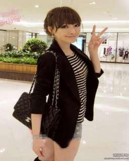 New Fashion OL Ladies Long Sleeve Slim Suit Jacket 2 Colors 1113