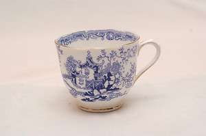 Albert Crown China Blue Willow #6454 Cup Only From 1925 1927