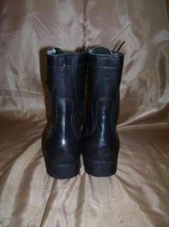 Vintage Military/Combat Jump Boots Black Size 8 R NOS
