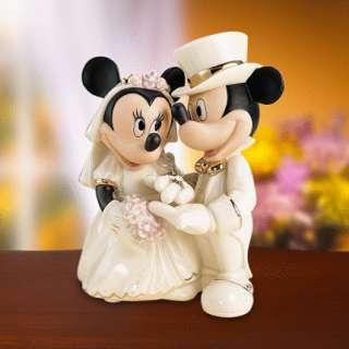 LENOX DISNEY MICKEY AND FRIENDS MINNIES DREAM WEDDING