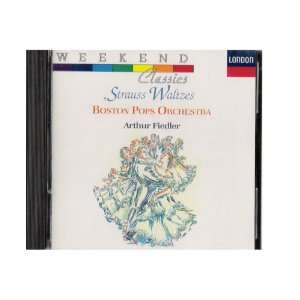 Strauss Waltzes Johann Strauss II, Arthur Fiedler, Boston