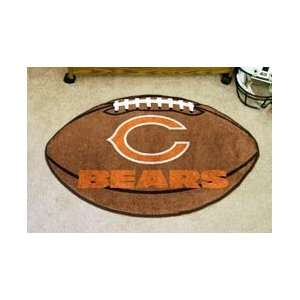 NFL Chicago Bears Rug Football Mat