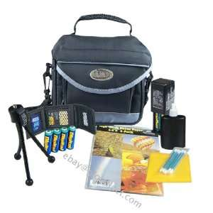 Camera Starter Kit   Deluxe Digital Camera Carrying Case (Color