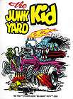 Junk Yard Kid Rat Fink Sticker Decal Big Daddy Roth RF8