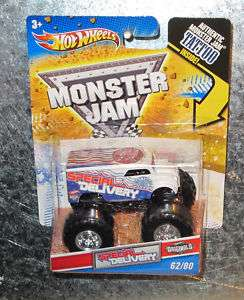 HOT WHEELS MONSTER JAM SPECIAL DELIVERY USPS MAIL TRUCK