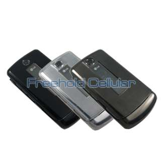 3x Hard Cover Cases + Car Charger for LG VX8700 8700