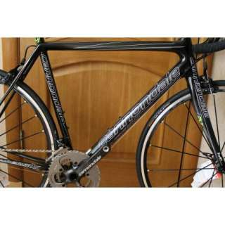 2012 Cannondale SuperSIX EVO Carbon Bike SRAM Red Size 54