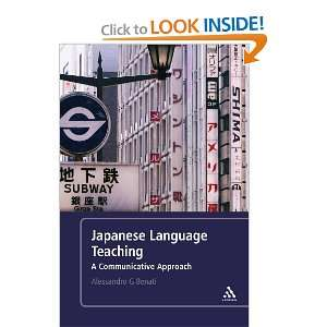 Japanese Language eaching A Communicaive Approach
