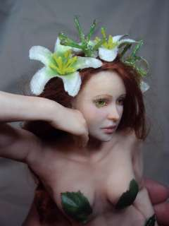 OOAK Art Doll Leaves Fairy Faerie Sculpture fantasy by D ROZ ADSG