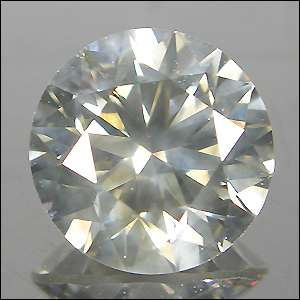 natural loose diamond round cut exclusive luster world class color nr