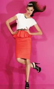 NEW Alice Olivia Gita T shirt Dress Coral 0/4/8/10