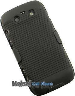 HARD CASE + BELT CLIP HOLSTER FOR BLACKBERRY TORCH 9850 9860