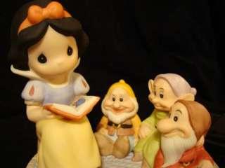 Precious Moments Disney Showcase Snow White & Dwarfs