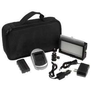 Fotodiox Pro LED 144AS, Video LED Light Kit, with Dimmable and Color