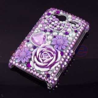 New Fashion Bling Rhinestone case for HTC G13 Wildfire S A510e