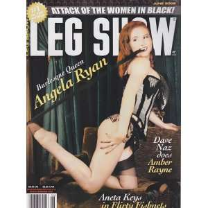 June 2008 Leg Show Magazine: Dian Hanson: Books