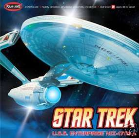 STAR TREK USS ENTERPRISE NCC 1701 A 1/350 NEW 36 long