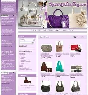 Established Handbag Internet Website Business FOR SALE