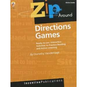 Zip Around Games Directions (9780865304215) Dorothy VanderJagt Books