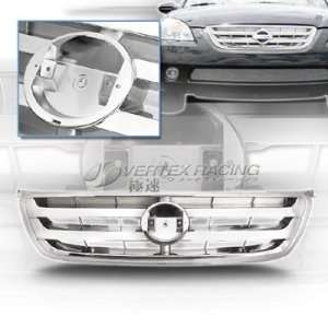 02 04 NISSAN ALTIMA OEM Style Front Grille XL A Chrome