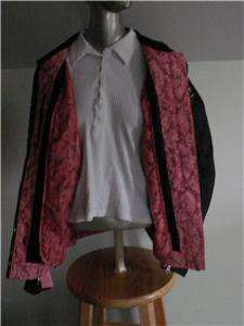 UP THE AUCTION IS THIS WOMENS LARGE JOE ROCKET HONDA GOLDWING JACKET
