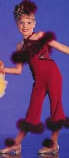 New! Stock CROCODILE ROCK Dance Jazz Costume CS & CXS