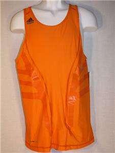Adidas PowerWeb TechFit Basketball Orange Tank Top men