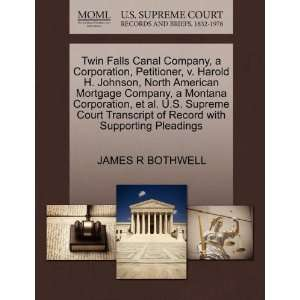 Corporation, Petitioner, v. Harold H. Johnson, North American Mortgage