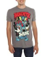 Brokencyde Grey Puppy Power Slim Fit T Shirt 2XL