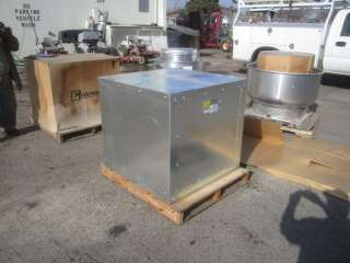 13 Greenheck Commercial Kitchen Hood & Exhaust Ventilation System #1